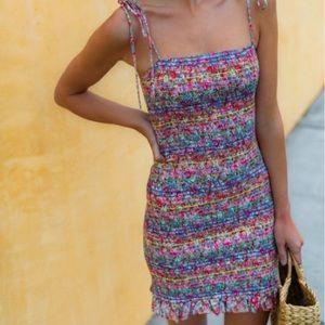 Vici rainbow dress!
